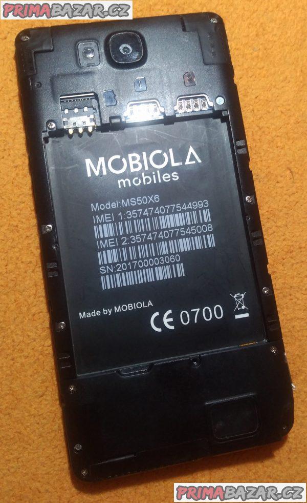 Mobiola Atmos II na 2 SIM - k opravě nebo na náhradní díly!!!