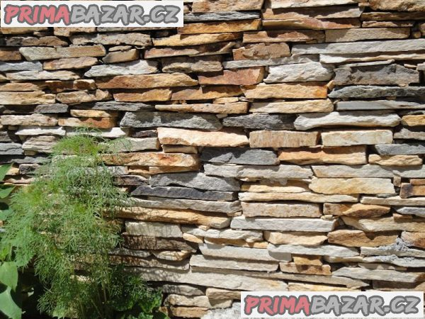 Přírodní kámen na obklady stěn
