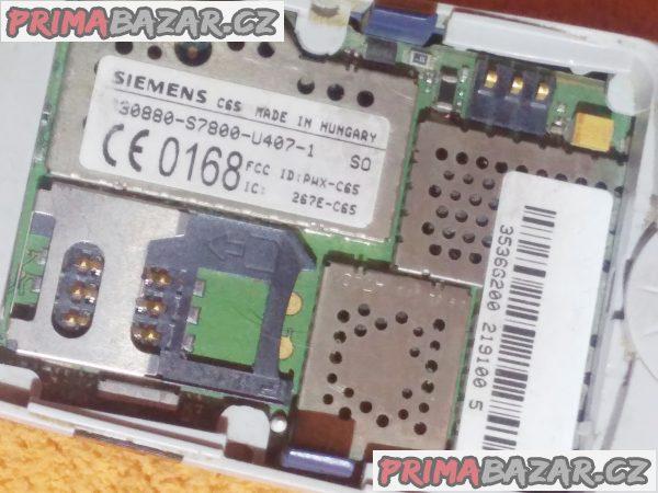 Siemens C65 - vzhledově hezký - ale kopravě nebo na náhradní díly!!!
