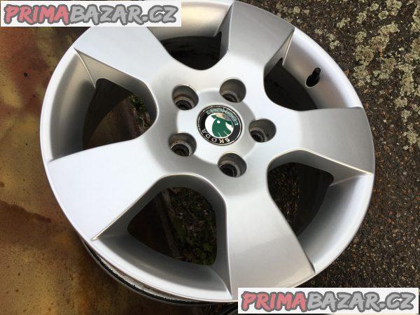 2x originál ALU RÁFEK Škoda Octavia 2