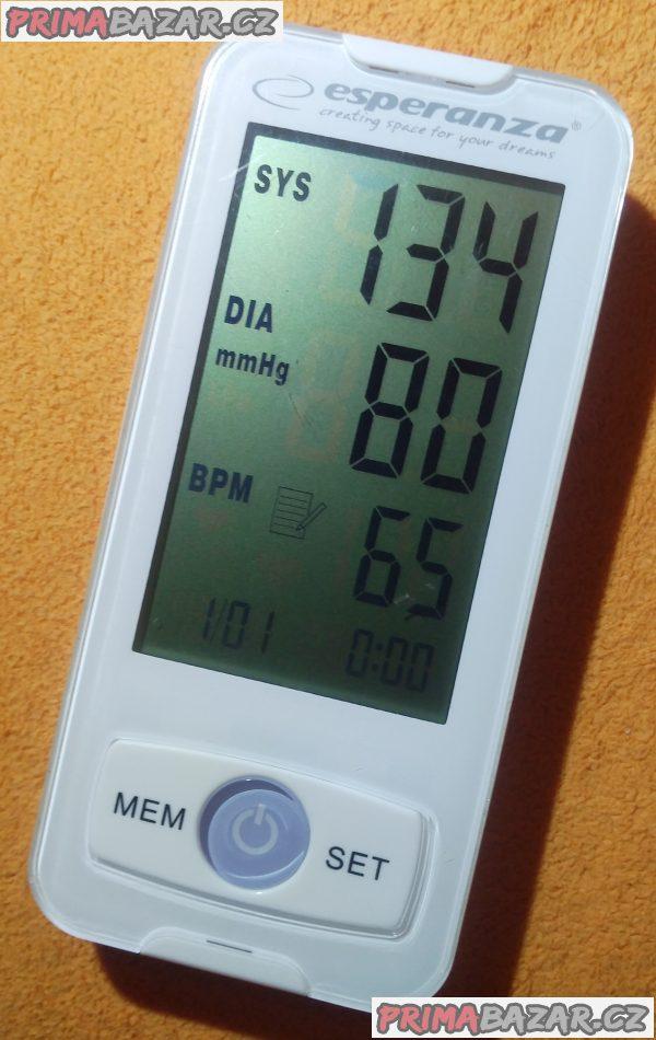 Měřič krevního tlaku Esperanza ECB002 - bez manžety!!!