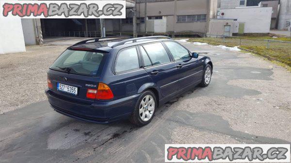 prodam automobil Bmw 320d E 46 combi, r.v 2001, stk