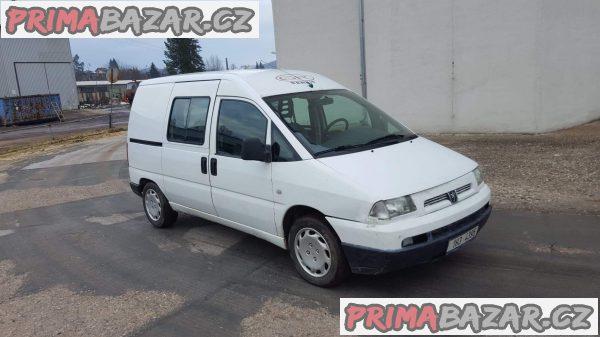 prodám automobil Peugeot Expert 2.0hdi r.v 2002,