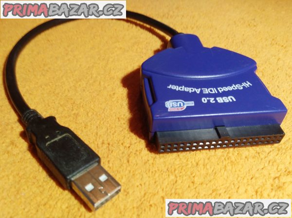 Adaptér z IDE na USB.