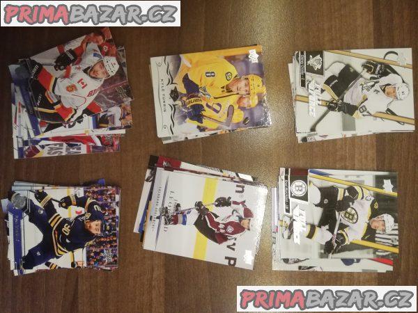 Hokejové kartičky NHL