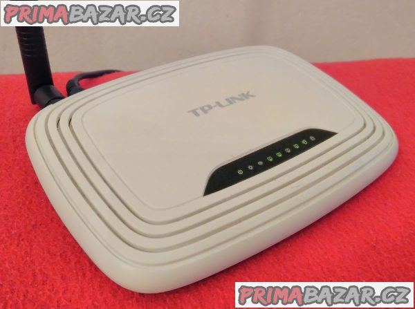 Wi-Fi router TP-LINK TL-WR741ND.