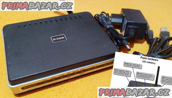 Wi-Fi router D-Link DAP-1160.