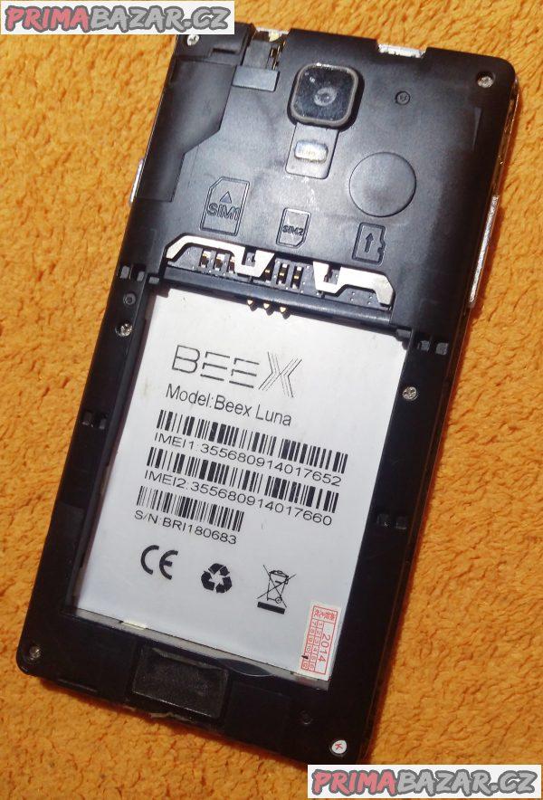 Beex Luna na 2 SIM - k opravě nebo na náhradní díly!!!