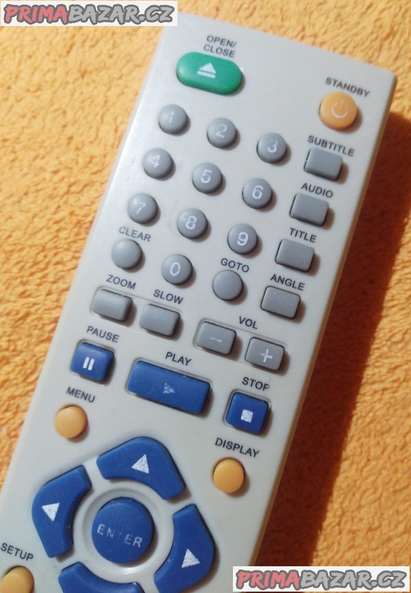 Dálkový ovladač DVD Hyundai - originál!!!