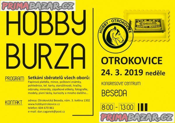 Hobby burza , OTROKOVICE, neděle 24.3.2019