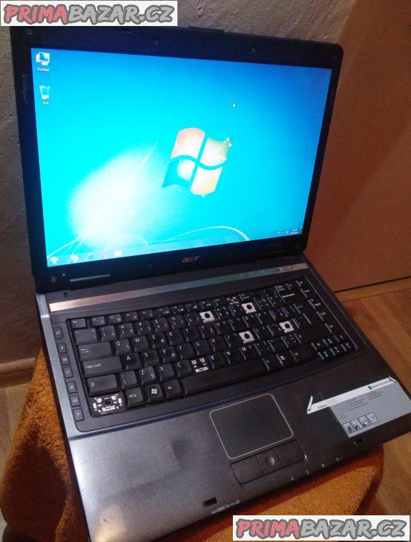 Notebook ACER Extensa 5220 - HDD 700 GB - drobná poškození!!!