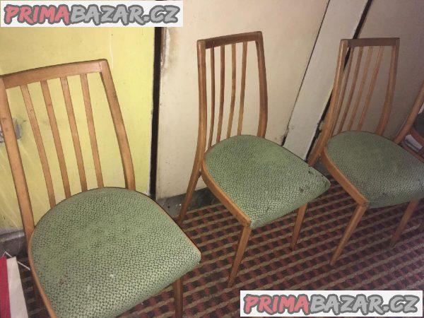 4 židle 70.léta