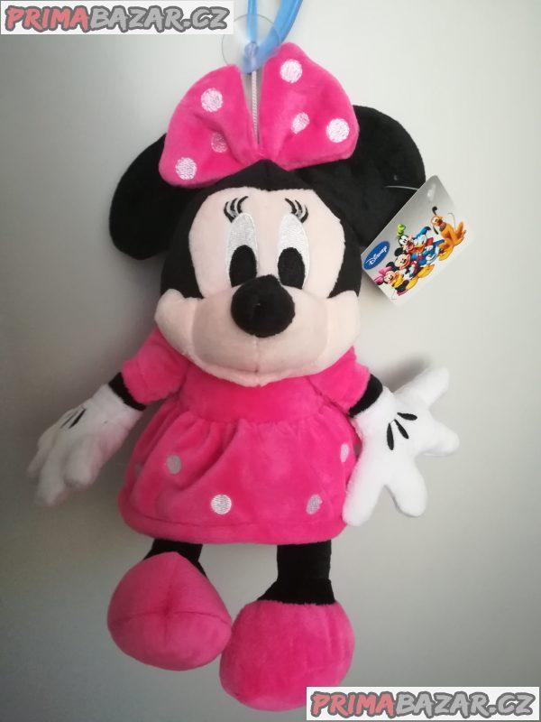 Plyšová Minnie, plyšový Mickey