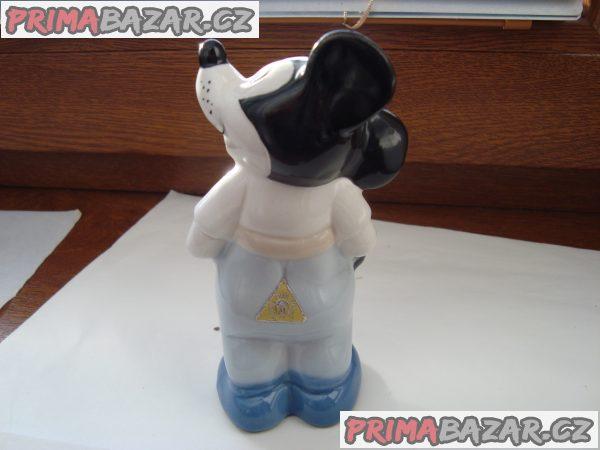 Prodám porcelánovou sošku Mickey Mouse Royal DUX