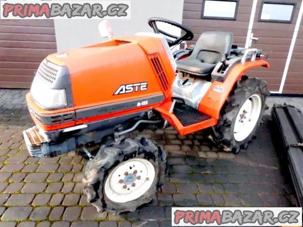 zahradní mini traktor KUBOTA ASTE A155 15,5 hp 4x4