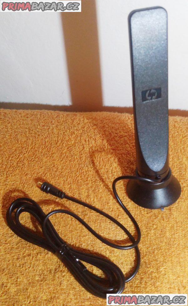 Přenosná digitální HP DVB-T TV anténa - nová.