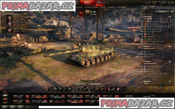 World of Tanks WoT-účet-2600 wn8 obj.907