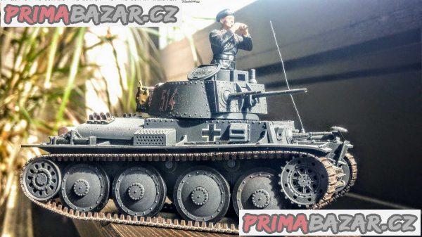 Model německého tanku LT vz.38