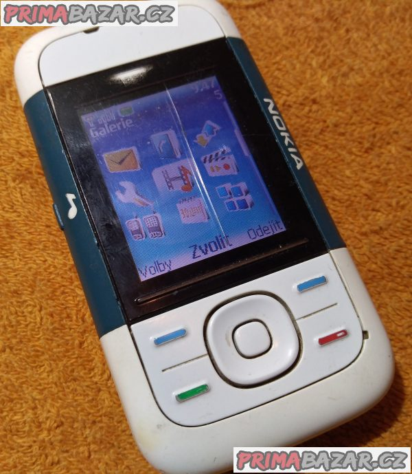 Vysouvací Nokia 5200 - funkční s dvěma nedostatky!!!