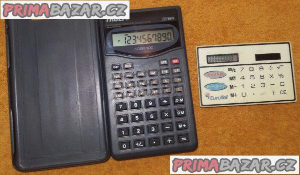 Vědecká kalkulačka Truly 107 s 56 funkcemi a druhá ZDARMA!!!