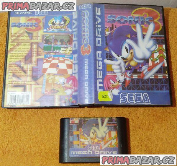 Sega Mega Drive - 4 různé hry!!!
