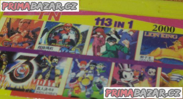 5 různých her pro konzole Pegasus!!!