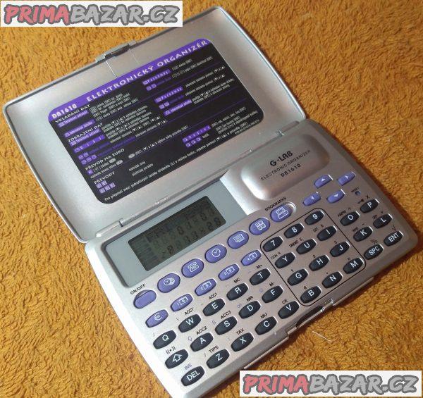 Elektronický organizér G-LAB DB1610 - jako nový.