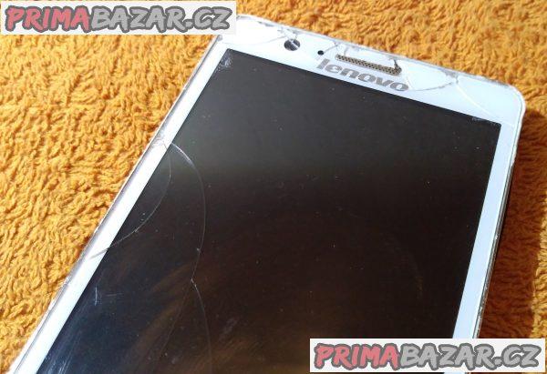 Lenovo A536 s 8GB a na 2 SIM - k opravě nebo na náhradní díly.