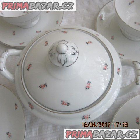 4dílná jídelní porcelánová sada