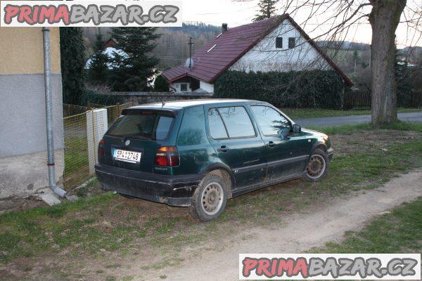 VW golf 3 - 1,6 GT speciál