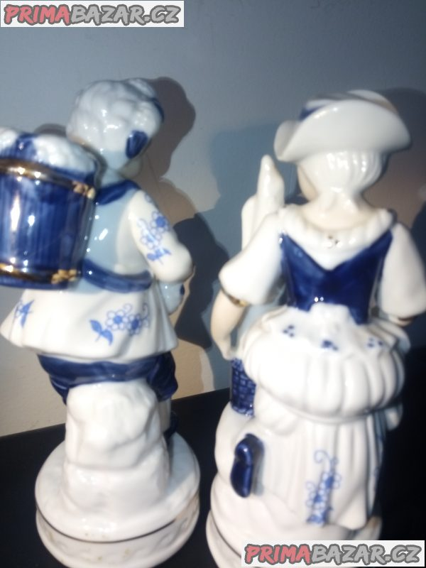 Handbemalt porcelan par sosek