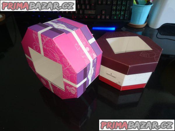 Krabičky od čokolády, nepoužité cca 200ks