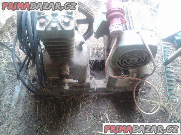 Kompresor domácí výroby