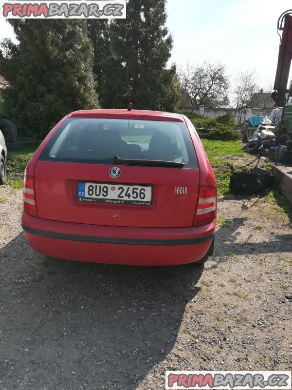 Škoda Fabia 1,4 / 55 kw combi