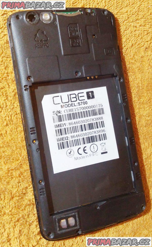 Cube 1 S700 na 2 SIM - kopravě nebo na náhradní díly!!!
