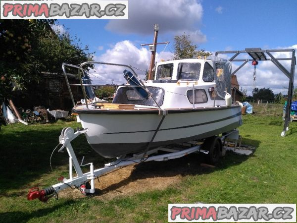 Prodám levně kajutovou loď
