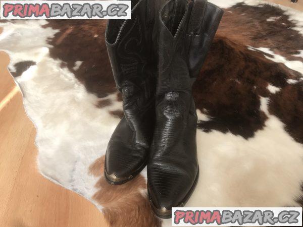 Pánské/dámské westernové Harley-Davidson boty