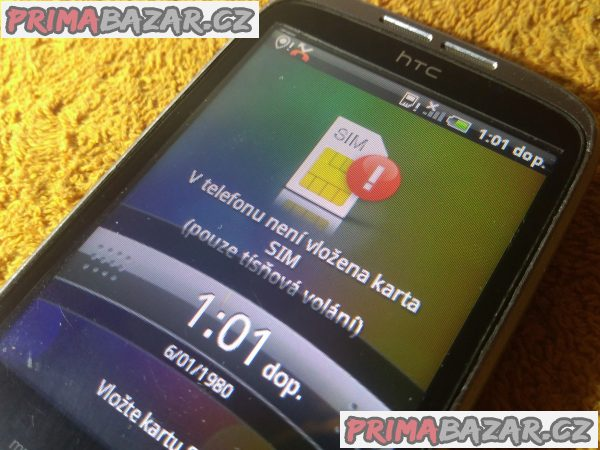 HTC Wildfire - nejde dotek!!!