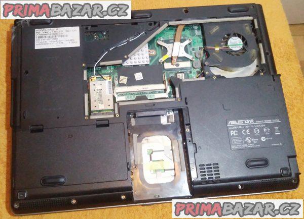 Notebook ASUS X51R - na náhradní díly nebo k opravě.