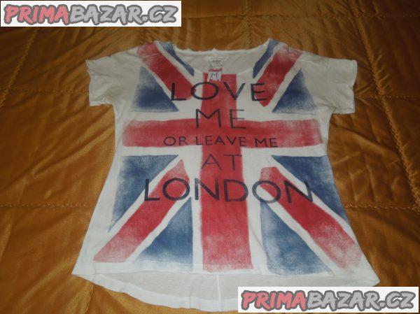 Dámské tričko BSK London, bavlna, vel. M