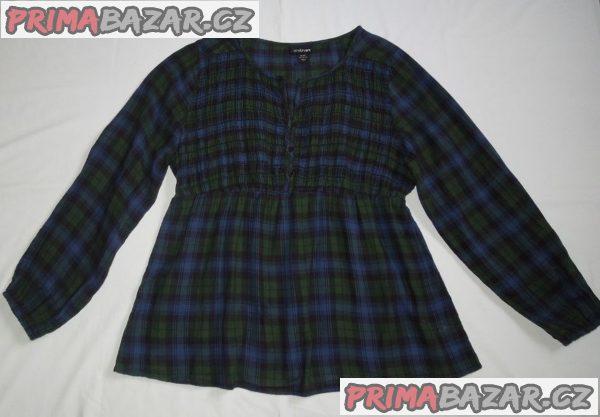 Dámská halenka/košile-šatovka, indická bavlna, vel. 46-50