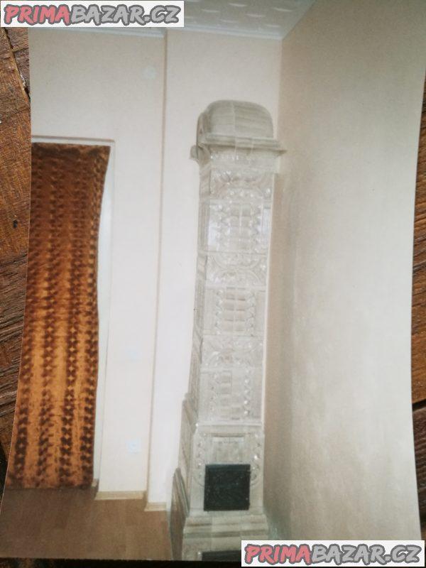 Starožitné kachlové kamna