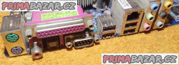Zákl. deska Gigabyte GA-8I945P-G-RH + procesor a chladič a 4 GB RAM!!!