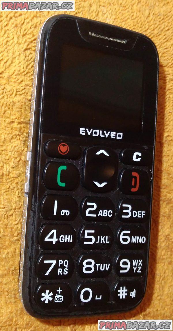 Evolveo EP-500 s SOS tlačítkem a snabíječkou!!!