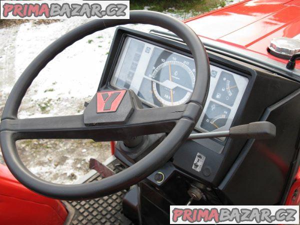 malotraktor Yanmar FF 225 s jednoradličným pluhem