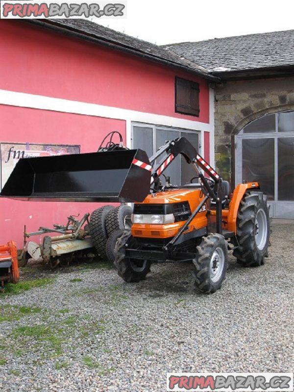 malotraktor Kubota GL 27 Grandel s nakladačem