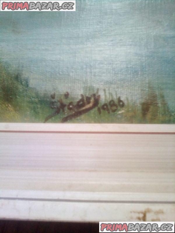 Olejomalba na plátně