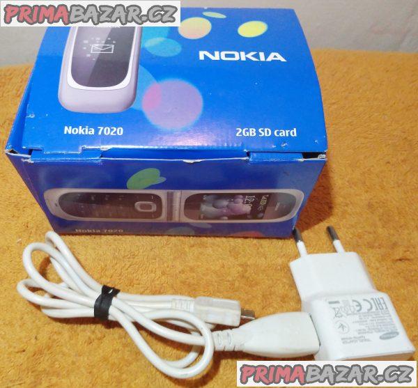 Výklopná Nokia 7020 -velice hezká s 1 nedostatkem!!!