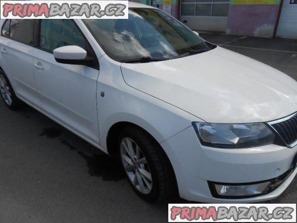 Škoda Rapid, 1.6TDi, 66kW, nový ČR, luxusní stav!!!