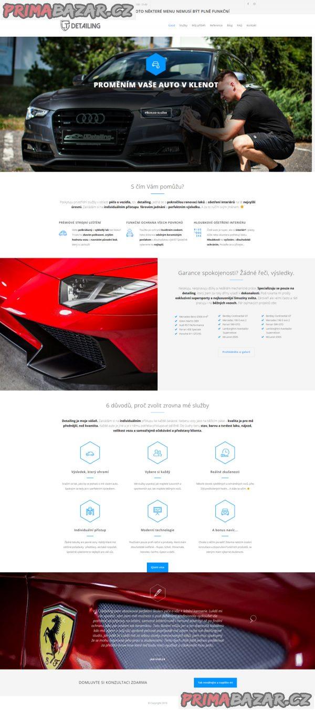 Profesionální tvorba webových stránek